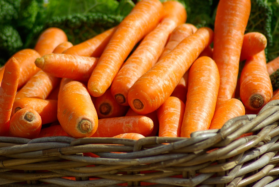Carrots are full of carotenoids