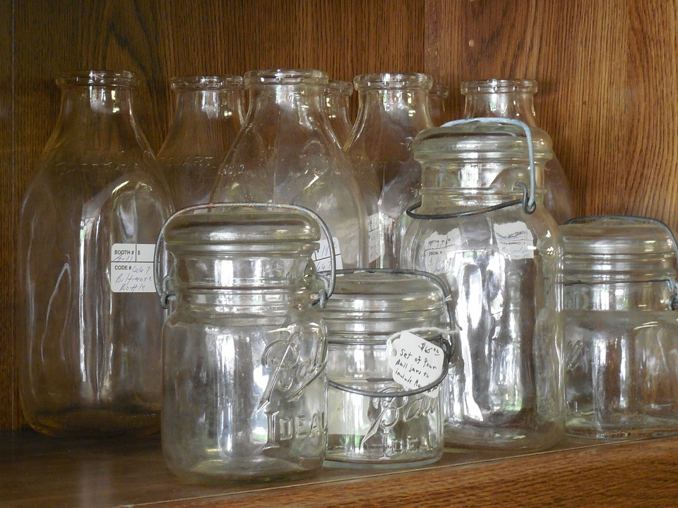 Take one of those empty jars you have sitting around for your jar test.