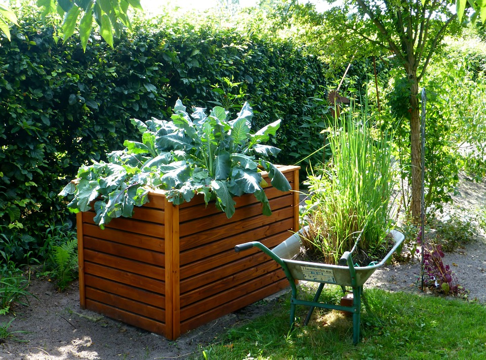You can make these raised beds as high as you wish